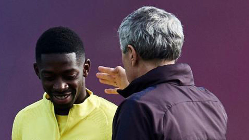 Dembele and Setien