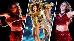 Shakira deslumbró con su presentación en el Super Bowl LIV.