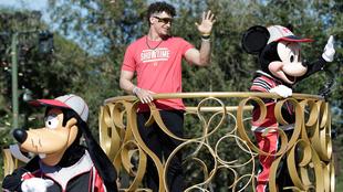 Mahomes, presente en Disneyland.