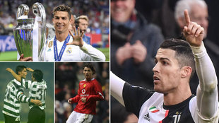 Sporting, United, Real Madrid, Juventus... El portugués cumple 35...