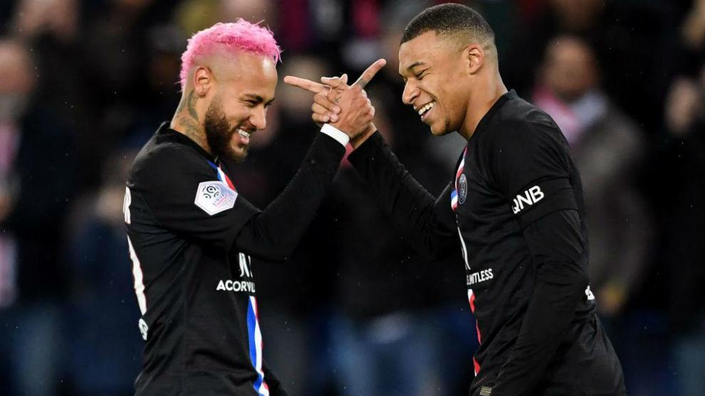 """Liga Francesa: Neymar: """"Mbappé puede ser uno de los mejores de la ..."""