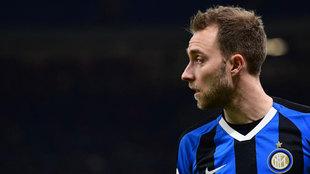 Eriksen, con el Inter.