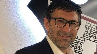 Mauro Pérez, director deportivo del Albacete, en una imagen del año...