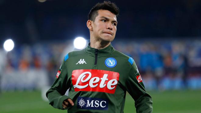 Lozano lleva seis partidos sin ser titular en la Liga de Italia