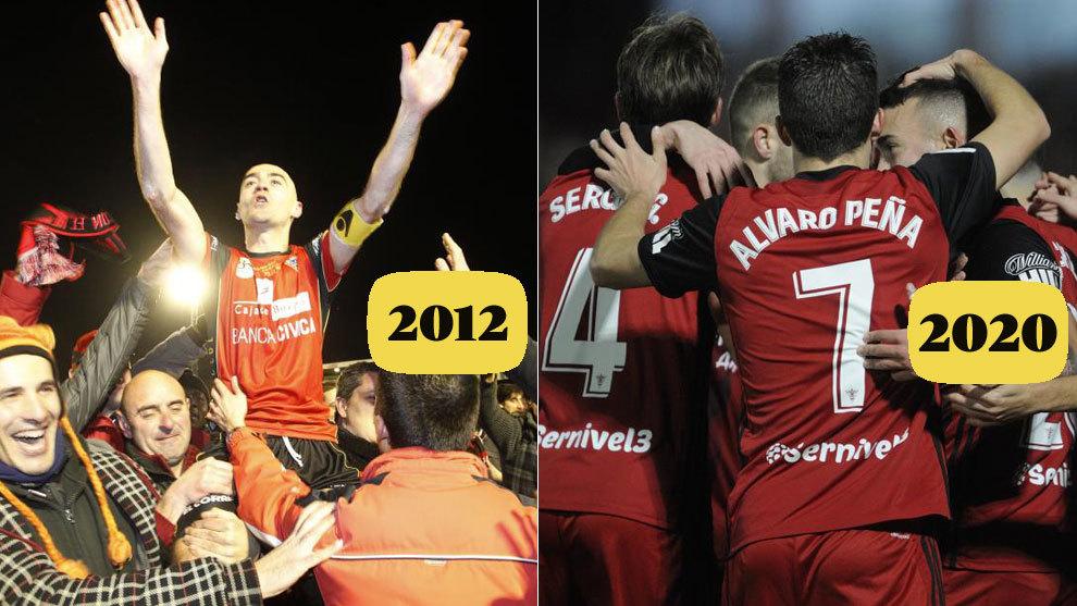 La gesta del Mirandes contra el Villarreal recuerda a la gesta del...