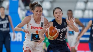 Corea del Sur - España - Preolimpico femenino baloncesto 2020