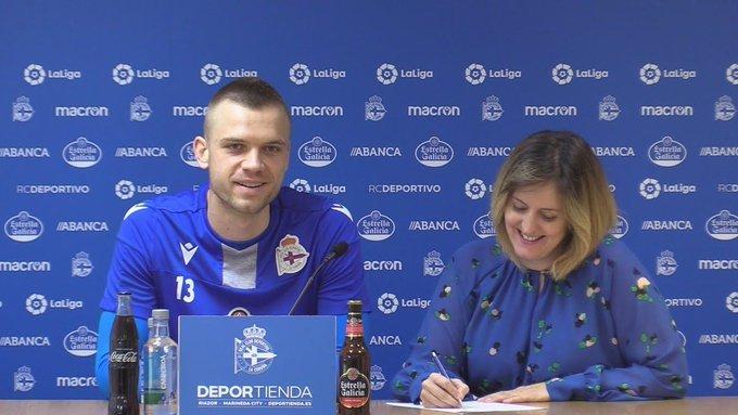 Aleksandar Jovanovic, durante su presentación
