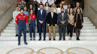 Participantes en la presentación de la edicion 2020 de la campaña...