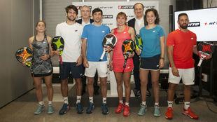 Prsentación del acuerdo entre Lotto Sport Italia y StarVie.