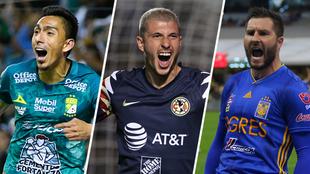 Extranjeros destacados en la Liga MX.