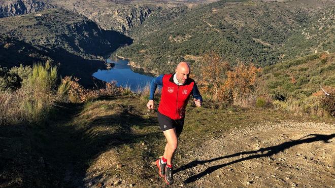 Un participante en el maratón Secretos del Duero.
