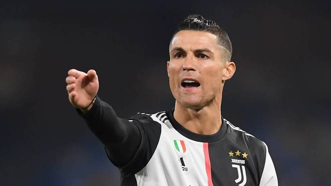 Cristiano Ronaldo, en un partido con la Juventus.