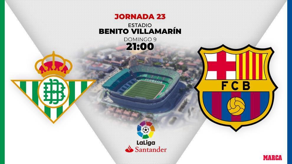 Betis - Barcelona: horario y dónde ver en television hoy el partido...