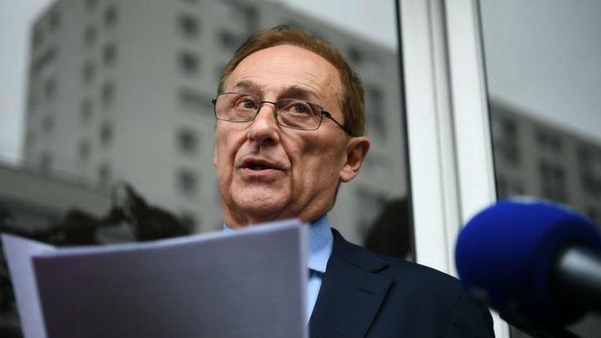 Didier Gailhaguet, al anunciar su dimisión.