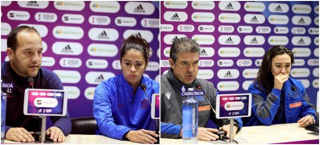 Ruedas de prensa previas de entrenadores y capitanes de Real Sociedad...
