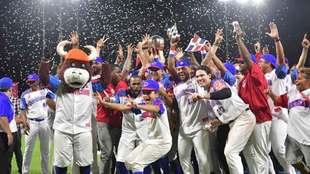 República Dominicana festeja su triunfo en la Serie del Caribe 2020