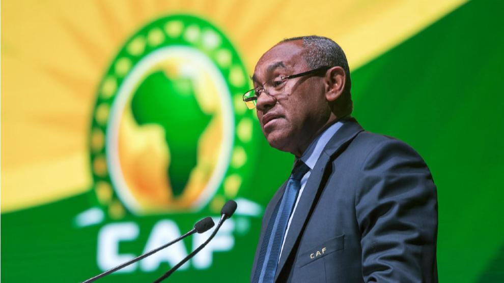 Ahmad Ahmad, presidente de la Confederación africana