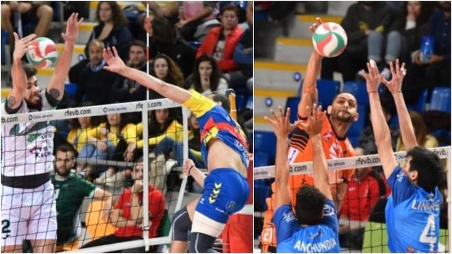 Las dos semifinales disputadas en el Palau Municipal d'Esports de Son...