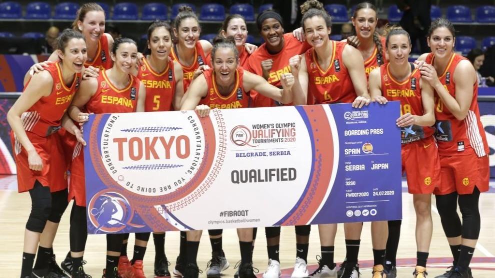 Preolímpico baloncesto femenino: España sella el billete para los Juegos de  Tokio 2020 tras superar a Gran Bretaña   Marca.com