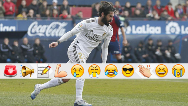 Osasuna Vs Real Madrid A Bad Day For His Haters Isco Once Again
