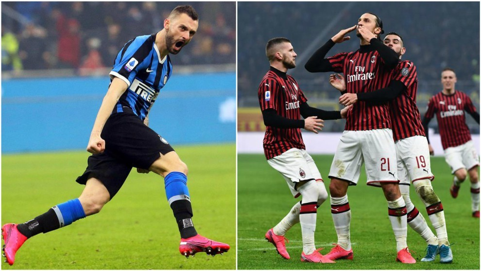 Inter Milan top Serie A over epic derby win