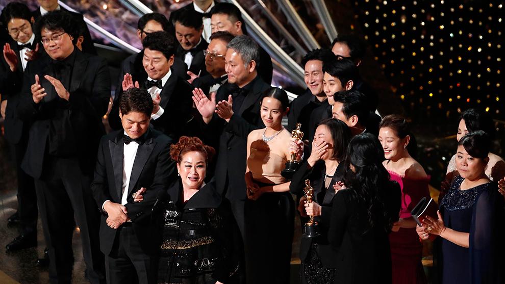 Parasite fue premiada como la Mejor Película del año.