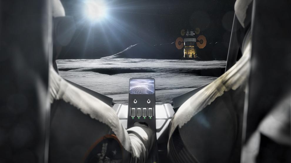 Los vehículos lunares serán clave en la exploración del satélite.