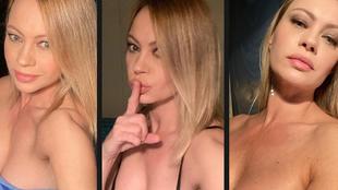 Anna Falchi, famosa actriz ítalo-finlandesa de 47 años, cumple con...