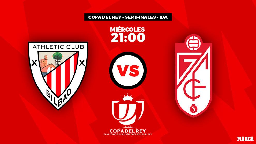 Athletic Club de Bilbao - Granada: horario y dónde ver por...