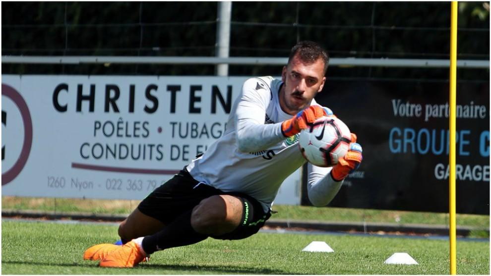 Emiliano Viviano, a su paso por el Sporting CP.