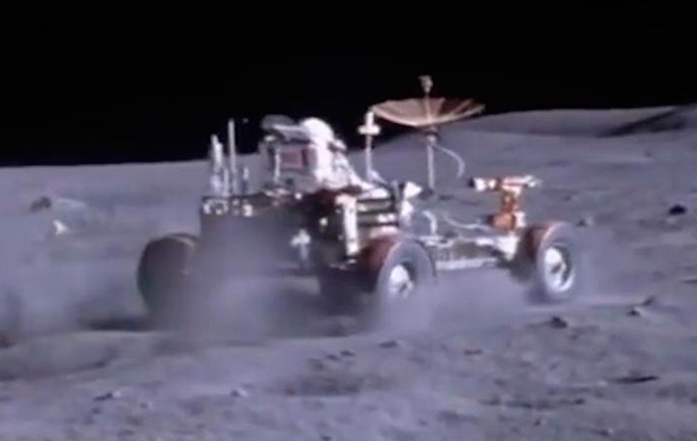Rover lunar Apollo