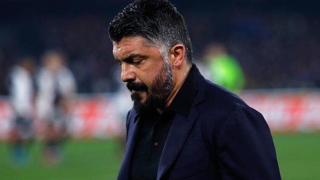 Gattuso podría estar viviendo sus últimos momentos con el Napoli.