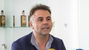 Manuel Franganillo, durante una rueda de prensa