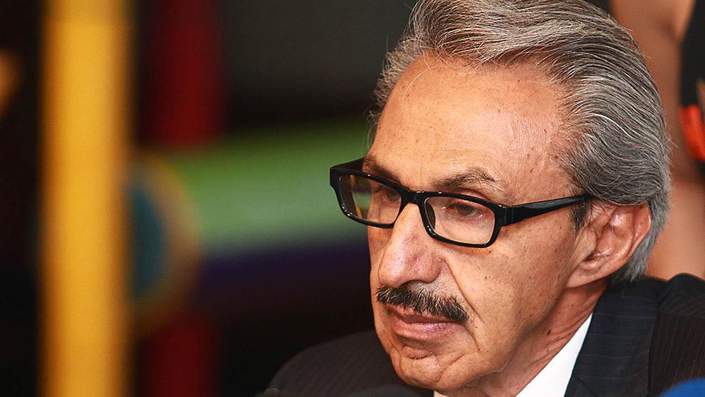 Enrique Mayorga, presidente de la FMB