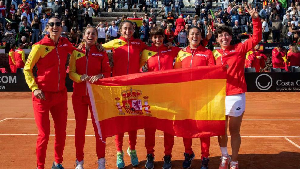 El equipo de Copa Federación que ganó a Japón