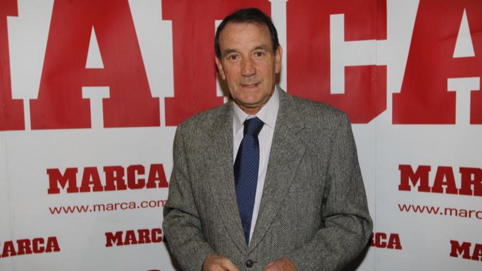 Vicente Miera en una reciente visita a la redacción de Marca