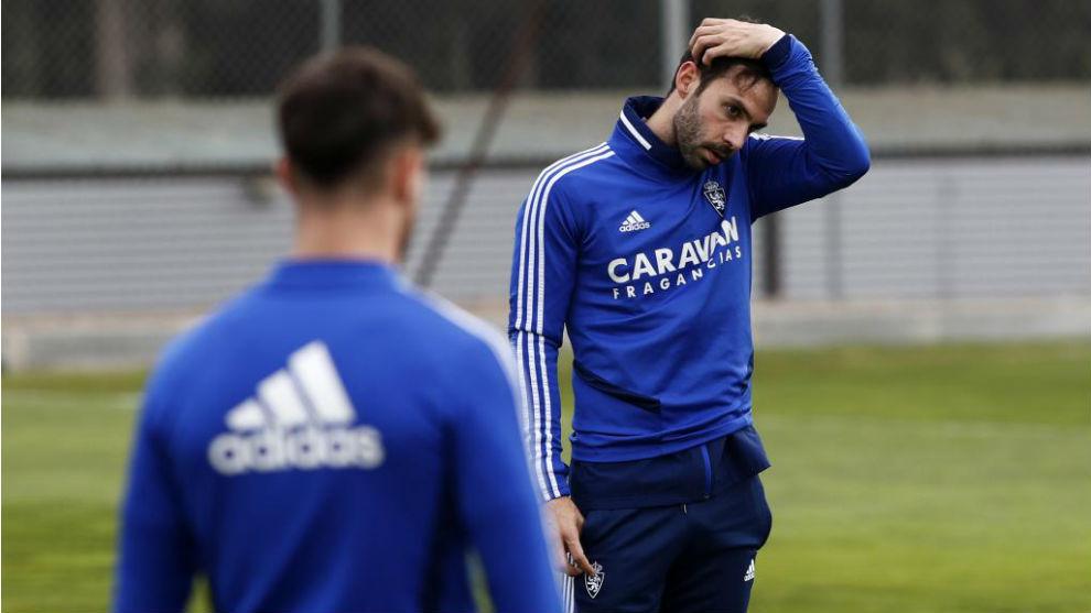 Alberto Guitián, en un entrenamiento.