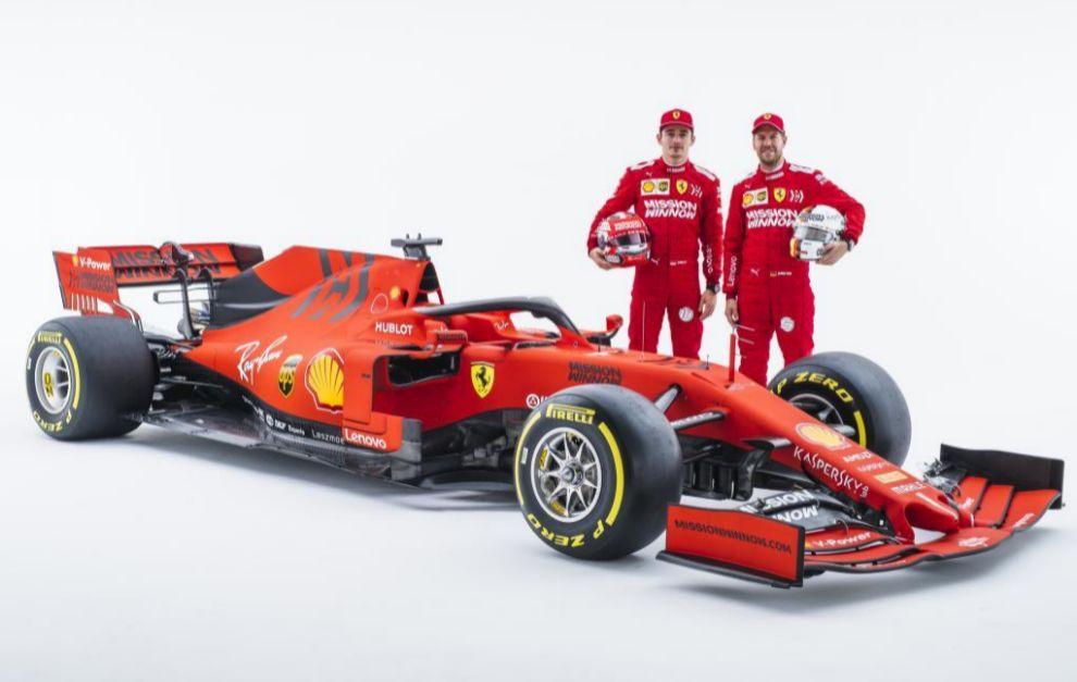 Así era el Ferrari SF90 del año pasado en su presentación.