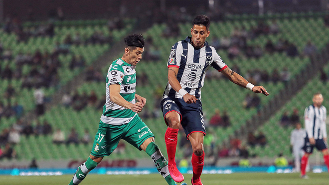 Accidentado debut de Matías Kranevitter en Monterrey