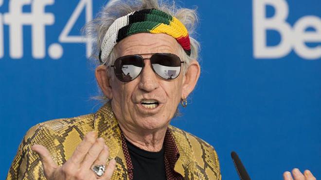 """Keith Richards deja de fumar: """"Es más duro que dejar la heroína""""."""