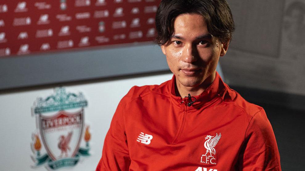 Takumi Minamino signed for Liverpool