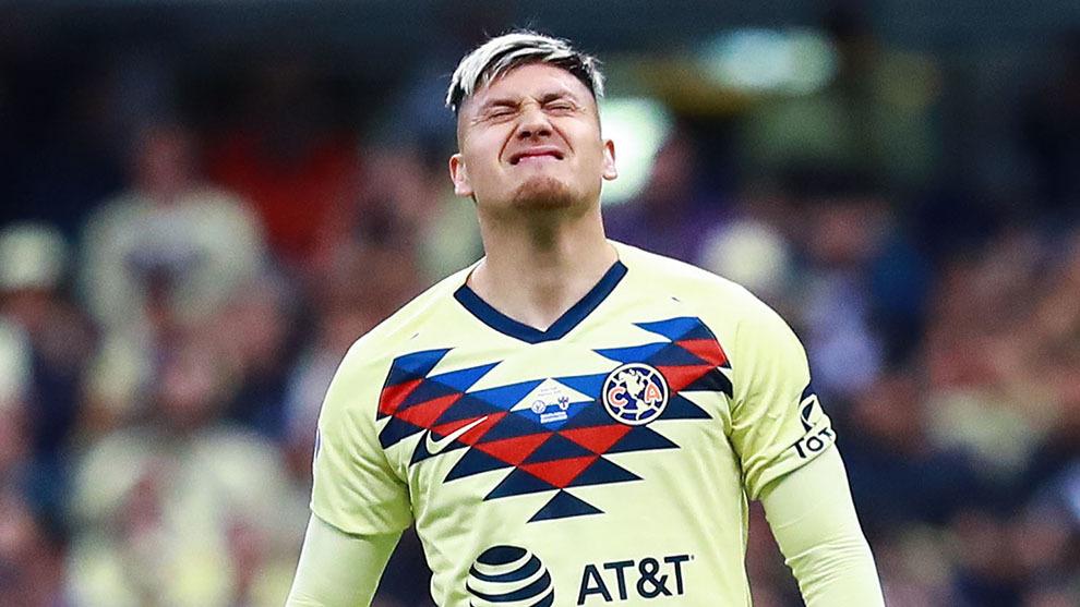 Nico Castillo en lamento con el América