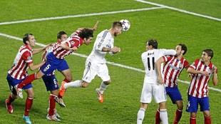El gol de Ramos en Lisboa