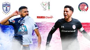 Pachuca vs Toluca hoy en vivo: ida de los cuartos de final de la Copa...