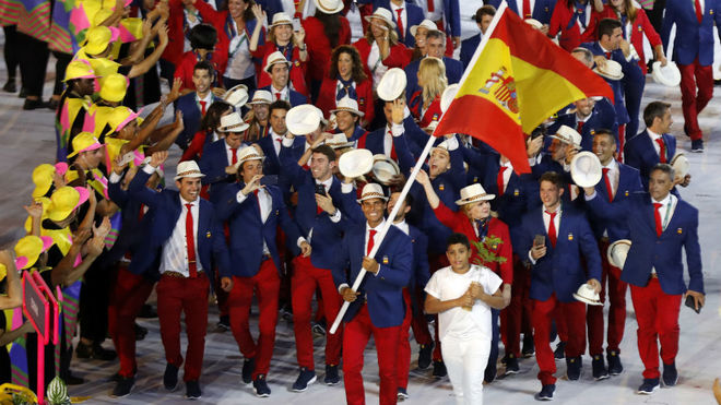 Rafa Nadal, abanderado en los Juegos Olímpicos de Río 2016