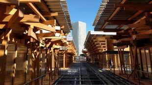 Vista central de Sapporo, sede de los Juegos Olímpicos de Tokio 2020.