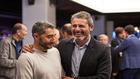Valverde bromea con Alkorta, director deportivo del Athletic