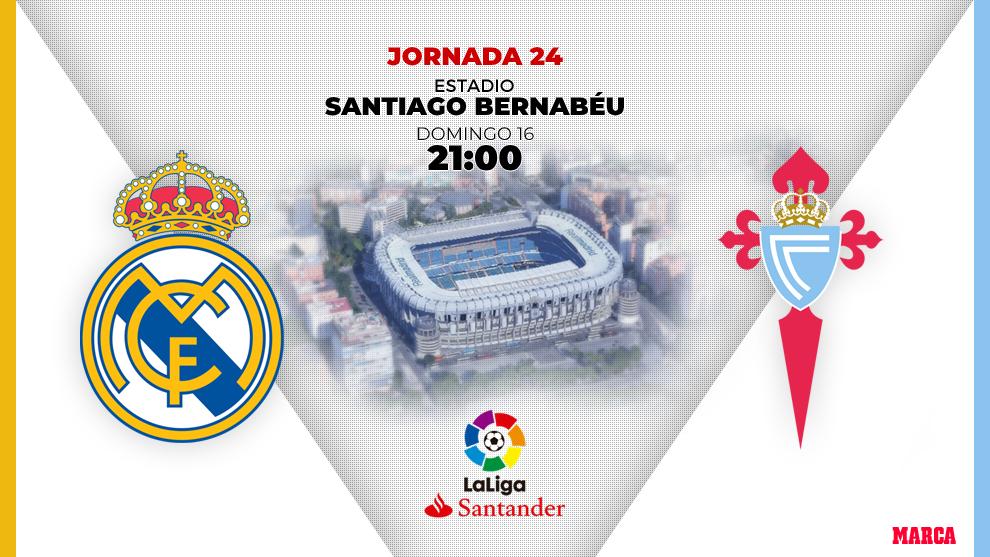 Real Madrid - Celta: horario y dónde ver por television hoy el...