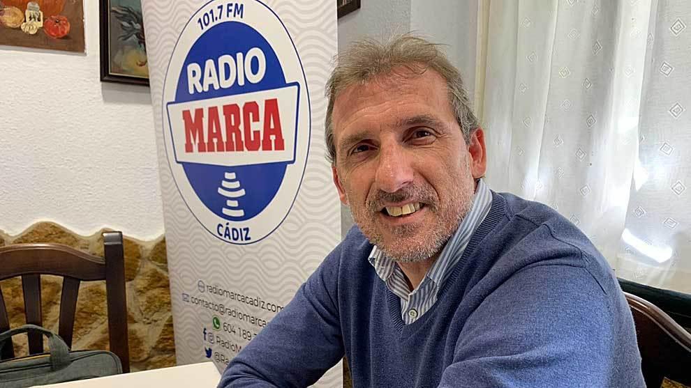Óscar Arias atendió a Radio MARCA Cádiz en el restaurante La Bodega...