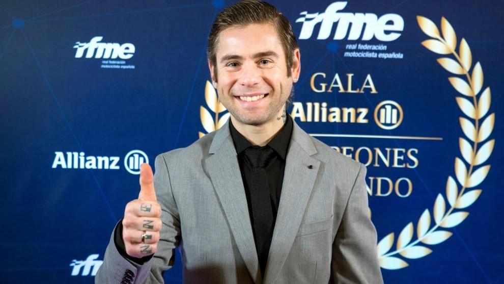 Bautista, en la Gala de la RFME.